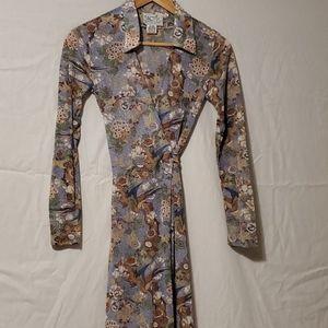 Vintage wrap dress